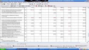 Баланс для бюджетных организаций со счетами 303.07-303.11 для 1С (